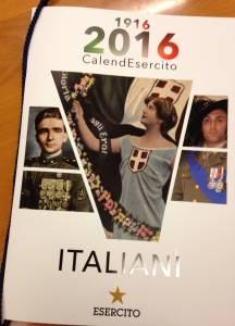 Calendario Esercito 2016