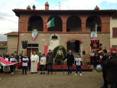 Gemellaggio Parte 2 - Davanti Alla Casa Natale Di Angelo Zampini