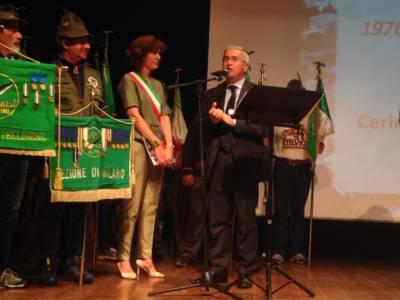 Il Presidente Della Provincia Di Udine Pietro Fontanini