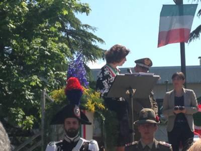 Il Sindaco Paladin, Il Capo Di Stato Maggiore Errico E La Presidente Serracchiani