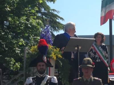 Il Saluto Del Vice Presidente Della Provincia Mattiussi