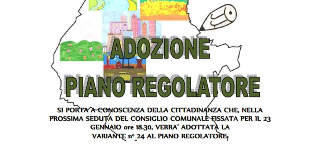 Adozione Piano Regolatore – Consiglio Comunale 23 gennaio 2014