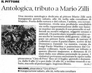 Mostra antologica dedicata a Mario Zilli in Pinacoteca