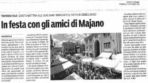 Majano e Traversetolo: una giornata di Festa a Traversetolo!