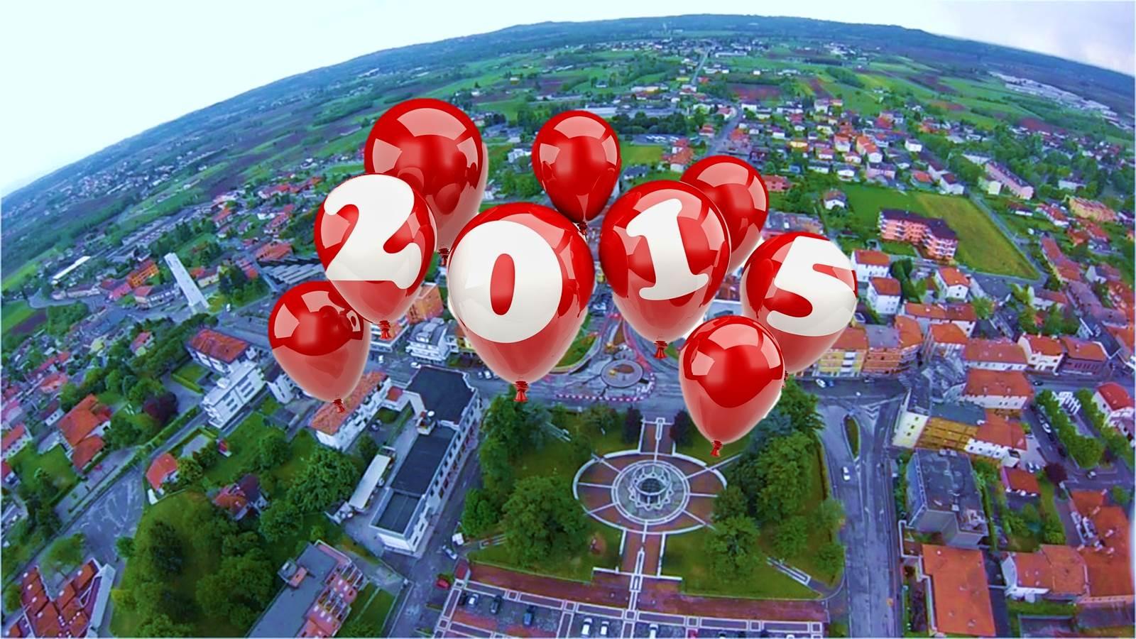 Un augurio di buon 2015 ai cittadini e alle famiglie di Majano
