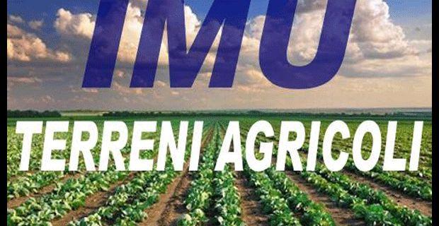 INCONTRO IN REGIONE PER L'IMU AGRICOLO